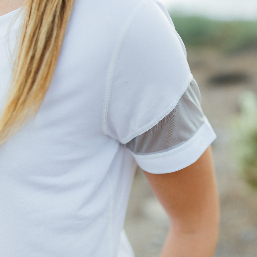 Tops - Mari Tee - White