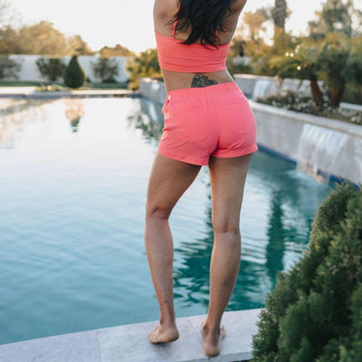 Voyage Shorts - Coral - Senita Athletics