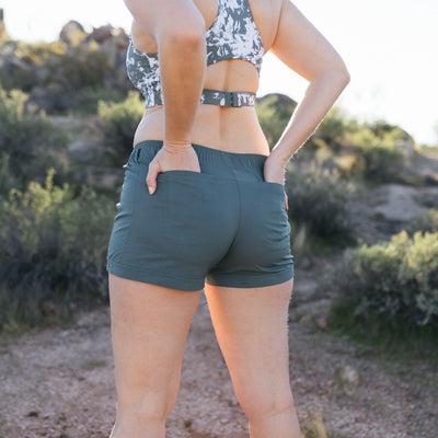 Voyage Shorts - Fern - Senita Athletics