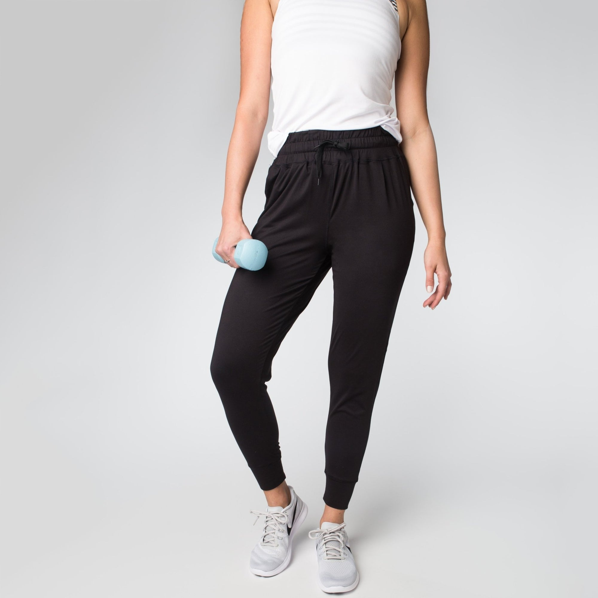 Weekend Joggers - Black - Senita Athletics