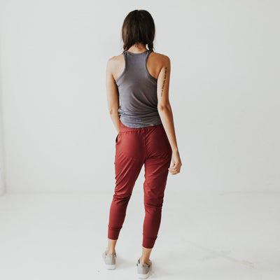 Weekend Joggers - Mulberry - Senita Athletics