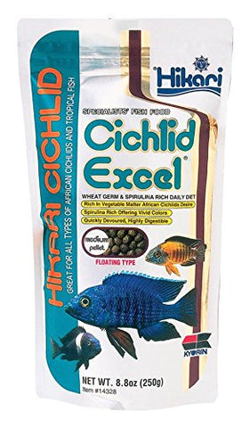Hikari Cichlid Excel Floating Pellet Fish Food