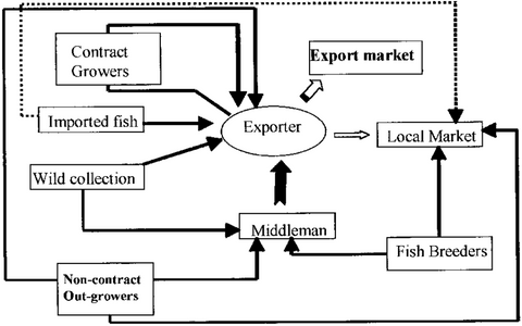 The Ornamental Fish Trade Supply Chain