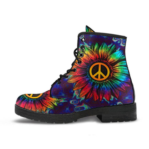 Sunflower Peace Boots