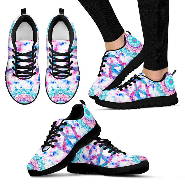 Peace Tie Dye Handcrafted Sneakers