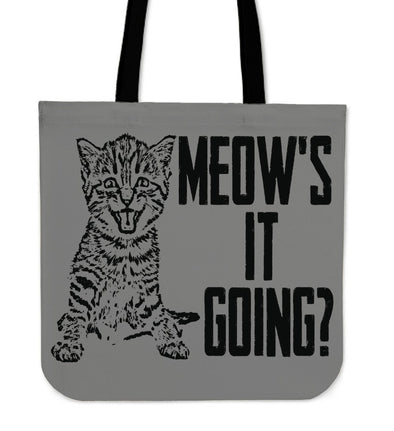 NP Meow's it Going Tote Bag