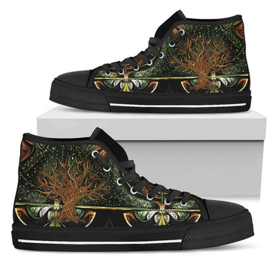 Tree Of Life Handcrafted High Tops