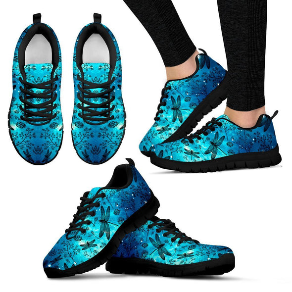Galaxy Dragonfly Handcrafted Sneakers