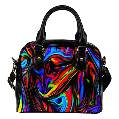 Fractal Art Shoulder Bag