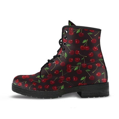 Cherry Pattern Boots