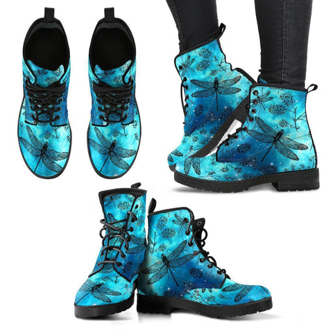 Image of Galaxy Dragonfly Handcrafted Boots