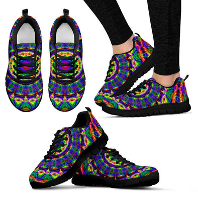 Colorful Mandala Handcrafted Sneakers