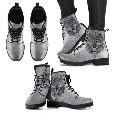 Boho Wolf 2 Handcrafted Boots