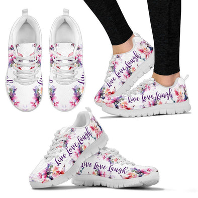 Live Love Laugh Handcrafted Sneakers