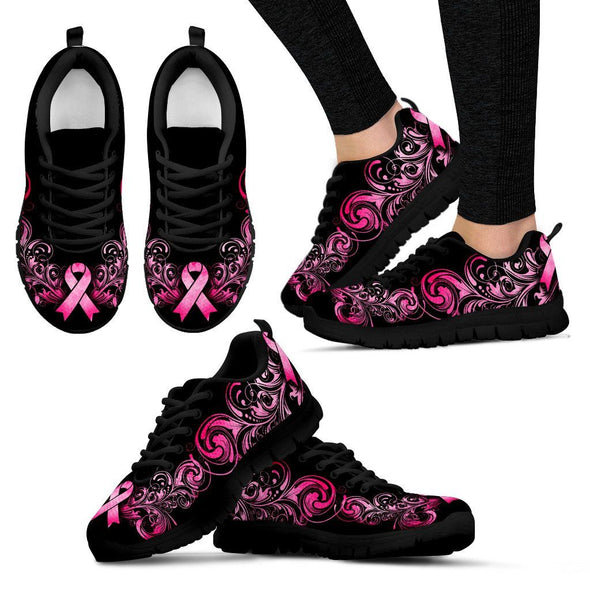 Breast Cancer Awareness Handcrafted Sneakers