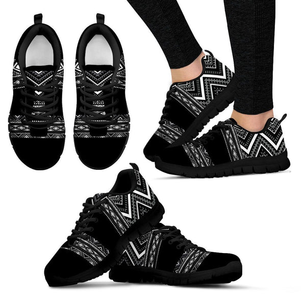 Bohemian Pattern Handcrafted Sneakers
