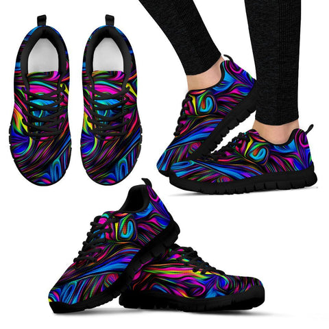 Image of Limited Time 60% OFF PSYCHEDELIC ART HANDCRAFTED SNEAKERS