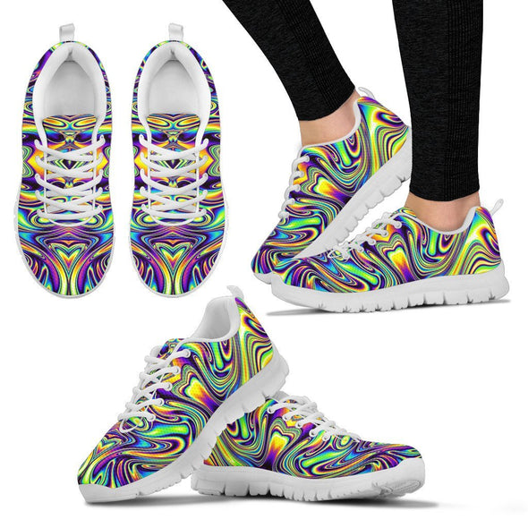 Psychedelic 10 Handcrafted Sneakers
