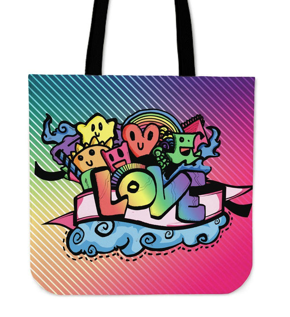 Love Doodle Tote