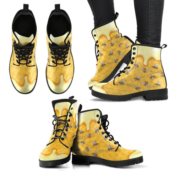 Honey Bee Handcrafted Boots