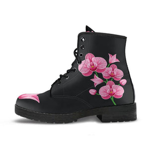 Orchids Flower Boots