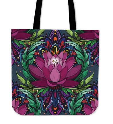 Beautiful Lotus Tote