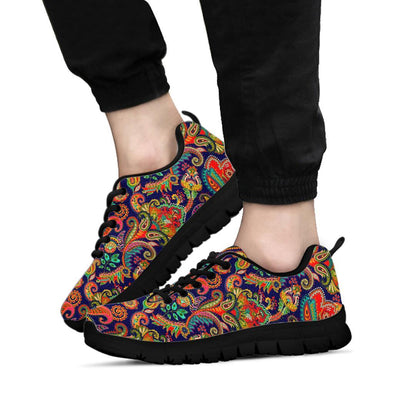 Colorful Paisley Handcrafted Sneakers