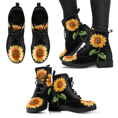 Sunflower Handcrafted Boots