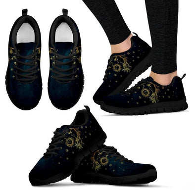 Sun Moon Alchemy Handcrafted Sneakers