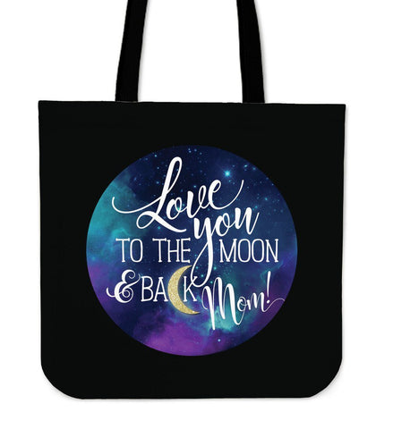 NP Love You To The Moon Tote Bag