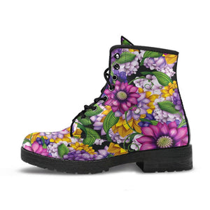 Funky Floral Boots