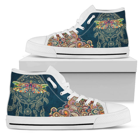 Image of Dragonfly Dream Catcher High Tops