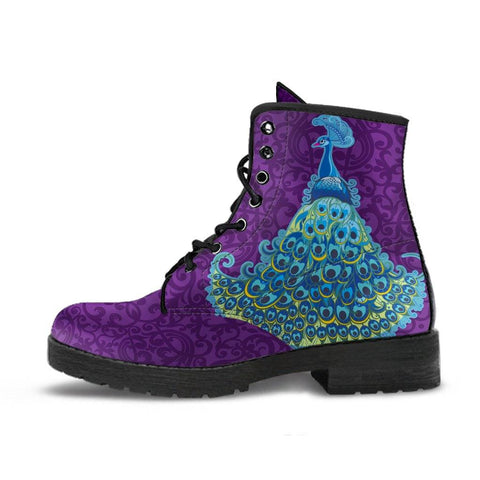 Image of Peacock Mandala Boots