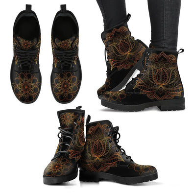 Lotus of Glory Handcrafted Boots