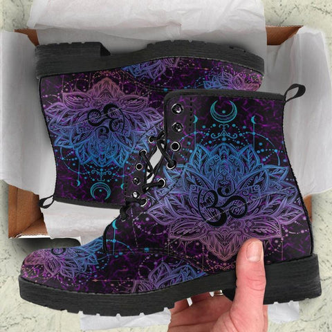 Ohm Lotus Handcrafted Boots