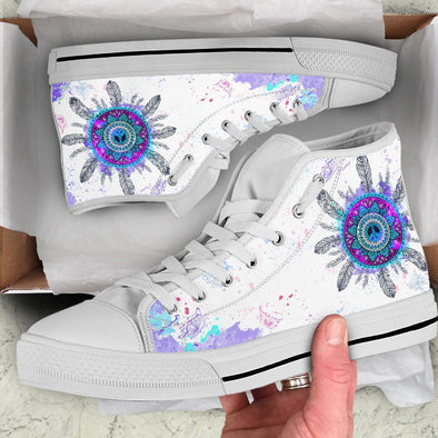 Dream Catcher Handcrafted High Tops