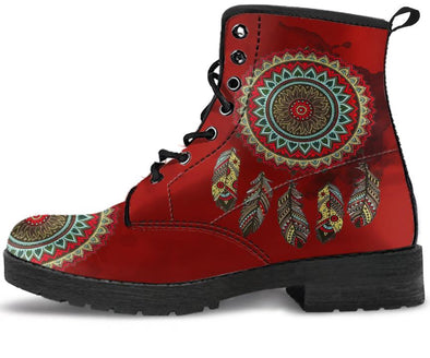 MANDALA DREAM CATCHER HANDCRAFTED BOOTS