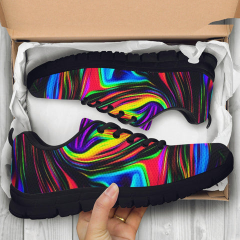 Image of Fractal Art 2 Handcrafted Sneakers