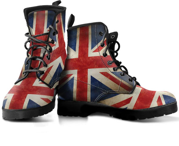 British Flag Handcrafted Boots