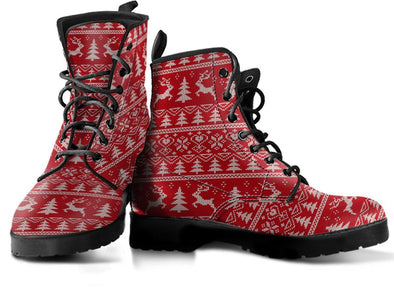 Christmas 5 Handcrafted Boots