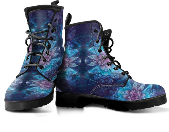 Fractal Flower 4 Handcrafted Boots