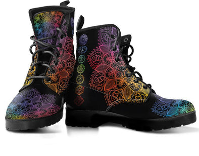 Colorful Chakra Handcrafted Boots
