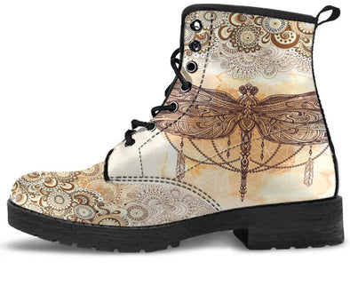 Dragonfly Paisley Handcrafted Boots