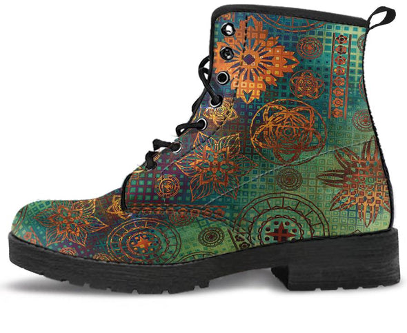 Boho Style Handcrafted Boots
