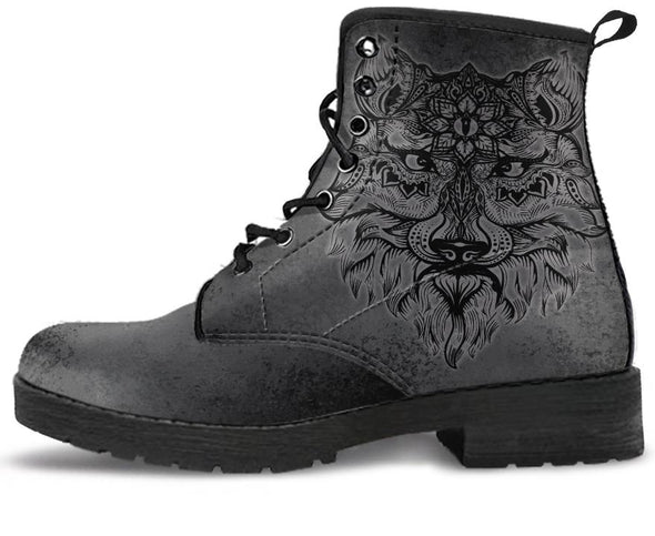 Boho Wolf Handcrafted Boots