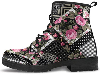 Floral Pattern 1 Handcrafted Boots
