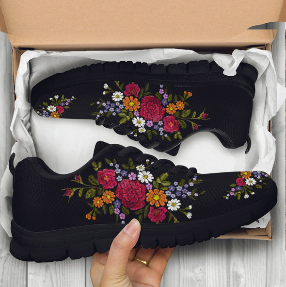 Limited Time 60% Colorful Flower 2 Handcrafted Sneakers