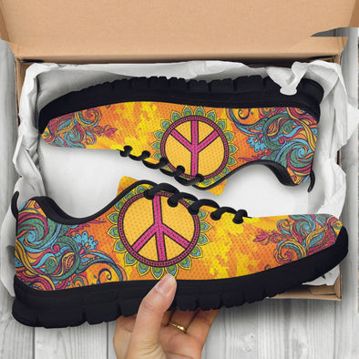 Hippie Peace Handcrafted Sneakers