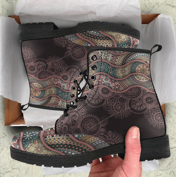Paisley Mandala Handcrafted Boots