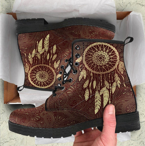 Image of Paisley Dreamcatcher handcrafted Boots